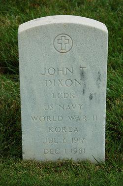 John T Dixon