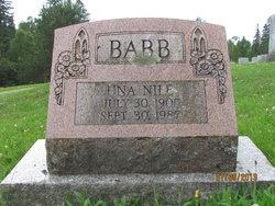 Una <i>Nile</i> Babb