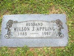 Wilson J Appling