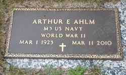 Arthur Edwin Ahlm