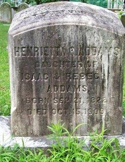 Henrietta C Harriet Addams