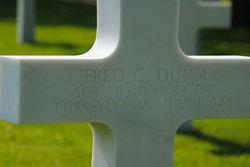 Sgt Fred C Dumm