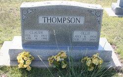 Emma Ollie <i>Washburn</i> Thompson