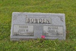 John Myers Bowden