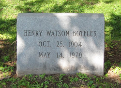 Henry Watson Boteler