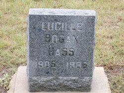 Clara Lucille <i>Bogan</i> Hass