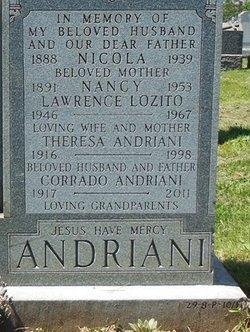Nancy Nunziate <i>Respanti</i> Andriani