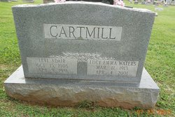 Lucy Emma <i>Waters</i> Cartmill