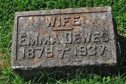 Emma Caroline <i>Waldschmidt</i> Dewes