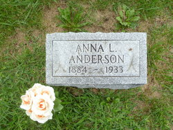 Anna Louise <i>Bloomquist</i> Anderson