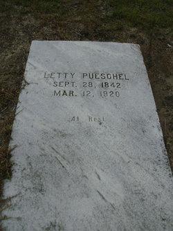 Letitia Letty <i>Worth</i> Pueschel