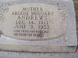 Arlene <i>McQuary</i> Andrews