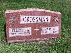 Mary M <i>Sedlmeier</i> Knab Crossman