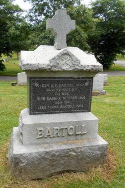 Hannah Maria <i>Foss</i> Bartoll