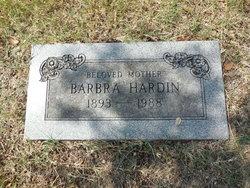 Barbara <i>Barksdale</i> Hardin