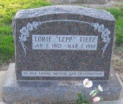 Lorie N <i>Lepp</i> Tietz