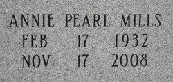 Annie Pearl <i>Mills</i> Austin