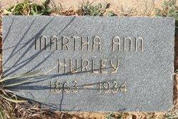 Martha Ann Hurley