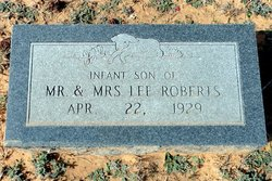 Infant Son Roberts