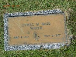 Ethel O. <i>Bass</i> White