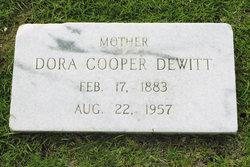 Dora <i>Cooper</i> DeWitt