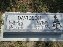 Luella M <i>Van Horn</i> Davidson