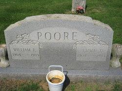 Emma J <i>Rumley</i> Poore