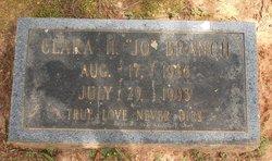 Clara Jo <i>Hilliard</i> Branch