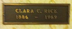 Clara Columbia <i>Stephens</i> Rice