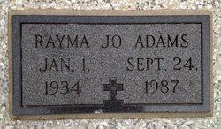 Rayma Jo Adams