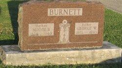 Minnie Bell <i>Walker</i> Burnett