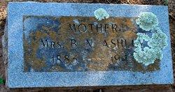 Mary Elizabeth <i>Smith</i> Ashley