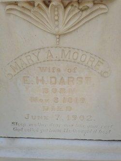 Mary A <i>Moore</i> Darst