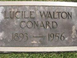 Lucille Orr <i>Walton</i> Conard
