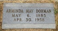 Arminda May <i>Tedrow</i> Dorman
