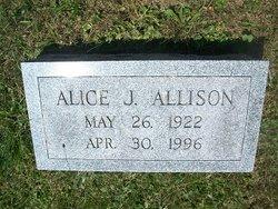 Alice J. <i>Donelson</i> Allison