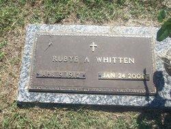 Rubye <i>Adair</i> Whitten