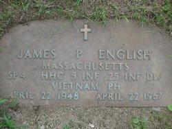Spec James Patrick English