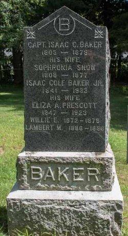 Willie E Baker