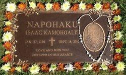 Isaac Kamohoali'i Mike Napohaku