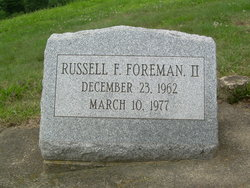 Russell F. Foreman, II