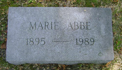 Marie <i>Buckhout</i> Abbe