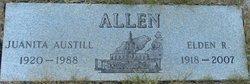 Juanita Belle <i>Austill</i> Allen