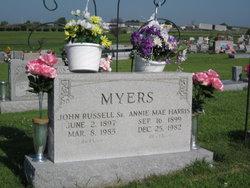 Annie Mae <i>Harris</i> Myers