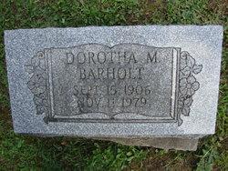 Dorotha M Barholt