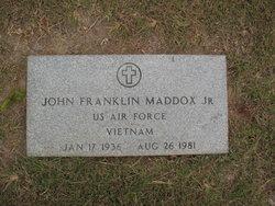 John Franklin Bobby Maddox