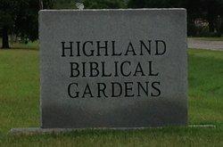 Highland Biblical Gardens