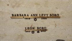Barbara Ann <i>Levy</i> Boro