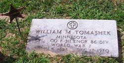 William Martin Pete Tomashek