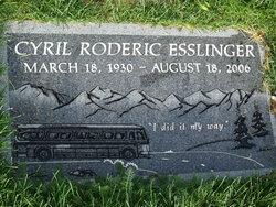 Cyril Roderick Rod Esslinger